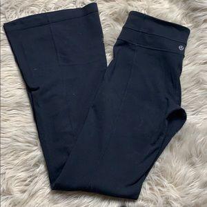 Lululemon reversible leggings all black